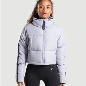 New GYMSHARK oversized puffer jacket